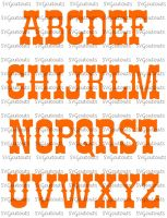 Western Chunky Font