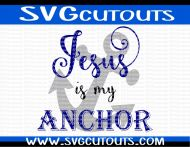 Jesus Is My Anchor Design