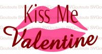Kiss Me Valentine Design