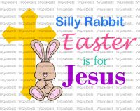 Silly Bunny Easter's For Jesus Design