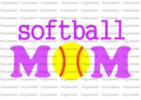 Softball Mom Design
